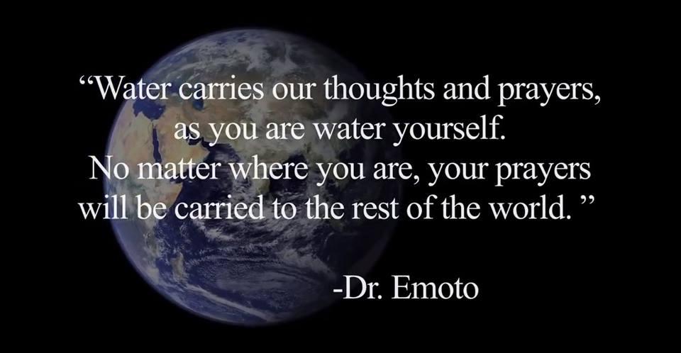 Prayers-Dr. Emoto
